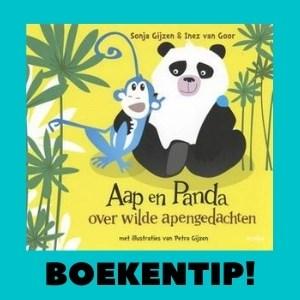 Boekentip! Aap en Panda, het eerste prentenboek voor kinderen over mindfulness.
