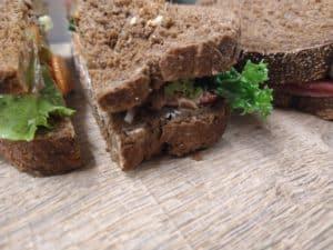 Landhotel sandwich to go