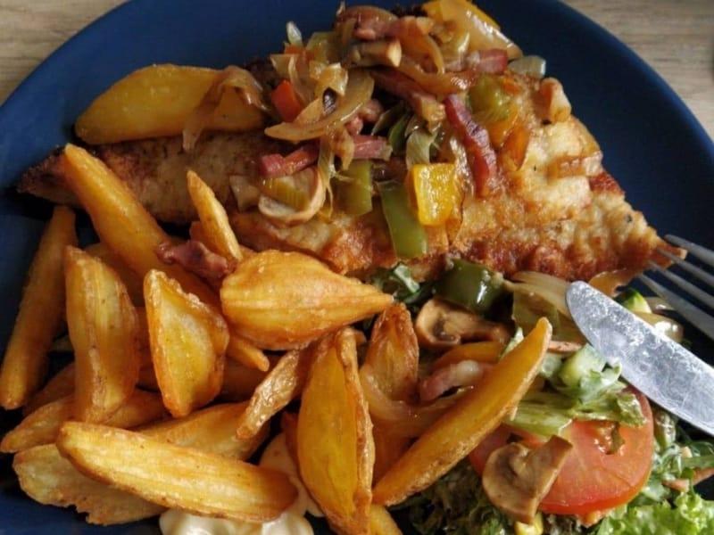 Gasterij Frederiksoord afhalen schnitzel afhaalmenu