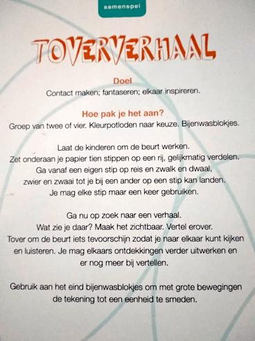 Zinvol Tekenen Toververhaal (Marijke Sluijter)