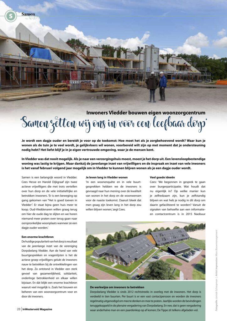 Pagina 1 Woonzorgcentrum Vledder InWesterveld Magazine sept 2020