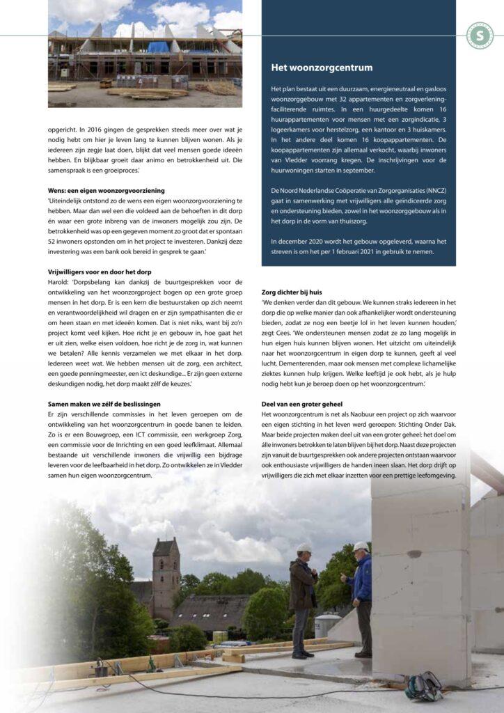 Pagina 2 Woonzorgcentrum Vledder InWesterveld Magazine sept 2020
