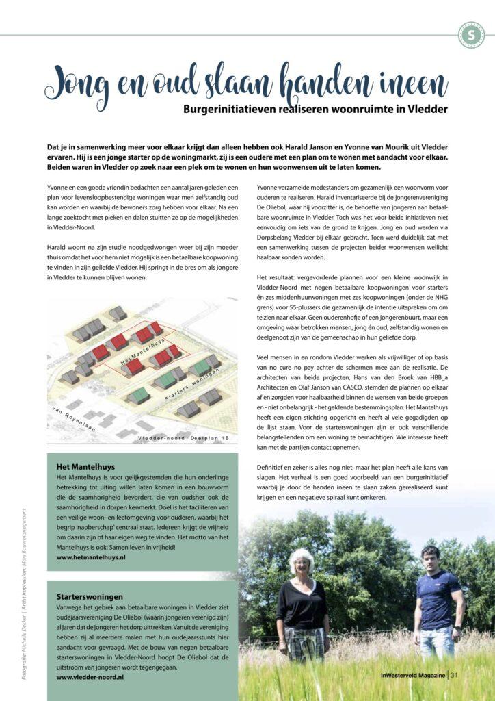 Pagina 4 Woonzorgcentrum Vledder InWesterveld Magazine sept 2020