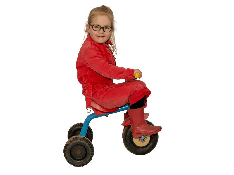 De Broekies agrarische kinderopvang driewieler