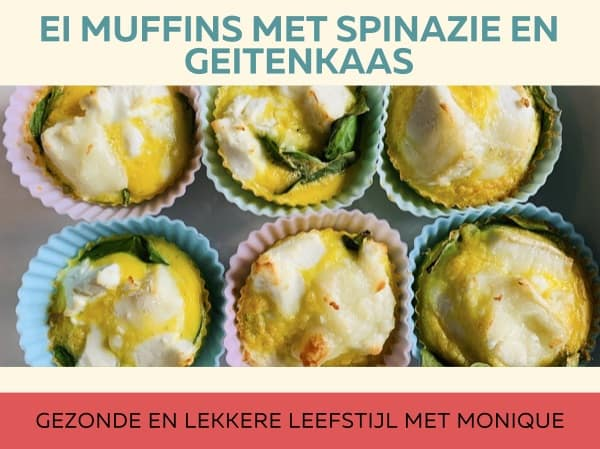 Ei muffins met spinazie en geitenkaas (1)