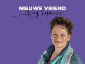 Nieuwe vriend- blog susanne
