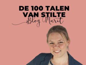 Stilte Blog Marit