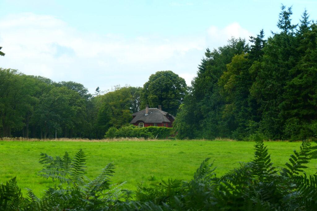 houten landhuis
